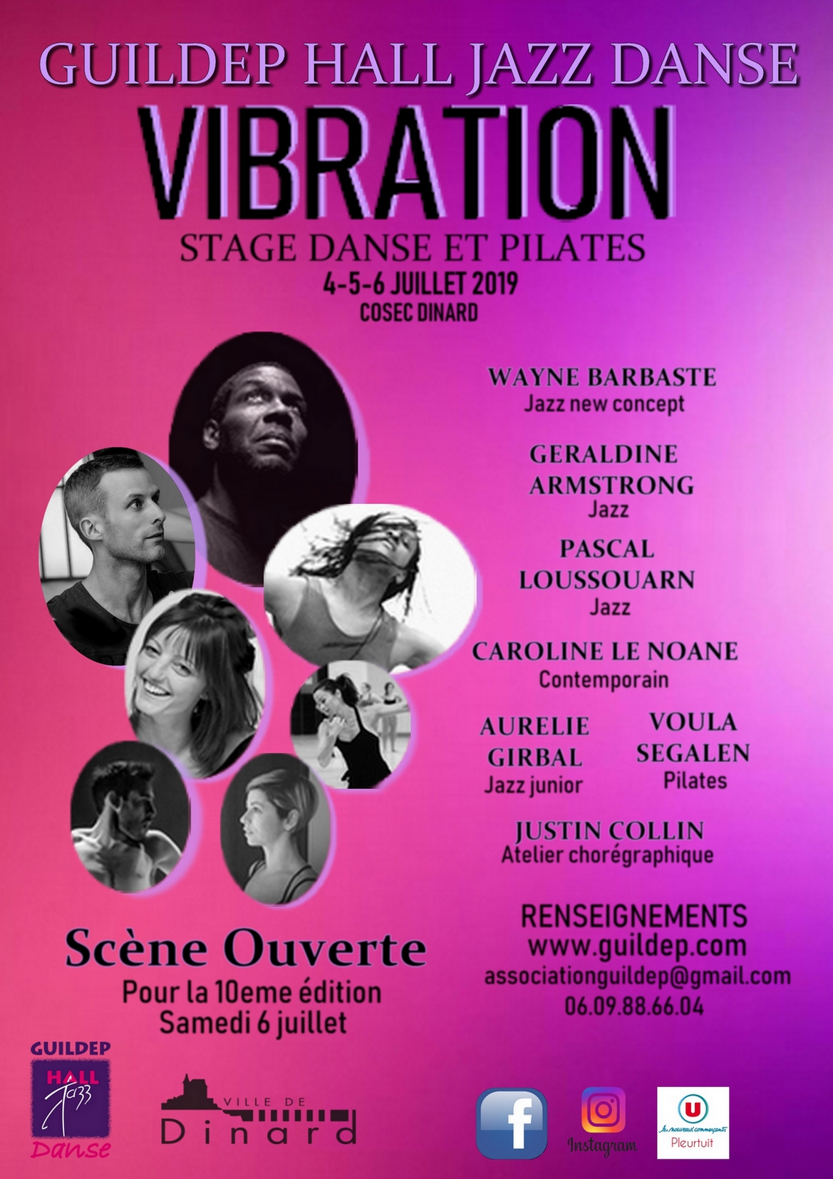 Stage de danse Vibration